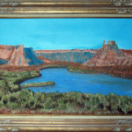 "Castle Rock, CO $350.00  32"" x 44"""
