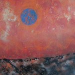 """Earth From Mars  $350.00  30"""" x 40"""""""